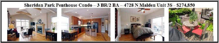 3 bedroom 2 bath Uptown condo